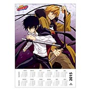 Настенный календарь по Kateikyo Hitman Reborn!