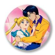 Большой значок по Sailor Moon