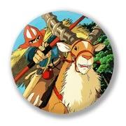 Гигантский значок Princess Mononoke