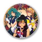 Гигантский значок по Sailor Moon