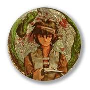 Гигантский значок по Abe Yoshitoshi art