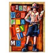 Постер на твёрдой основе (хардпостер) One Piece