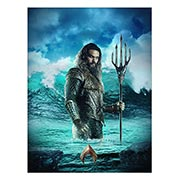 Портретный постер Aquaman