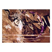 Портретный постер Aya Kato Art