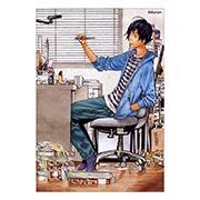 Портретный постер по Bakuman