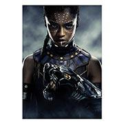 Портретный постер Black Panther