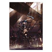 Портретный постер по Black Rock Shooter