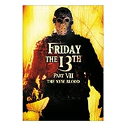 Портретный постер Friday 13th