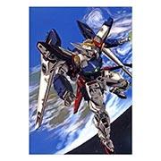 Портретный постер по Gundam