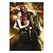 Портретный постер Hellboy