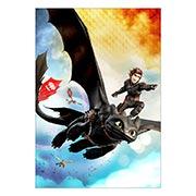 Портретный постер How to Train Your Dragon