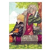Портретный постер по Naruto
