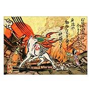 Портретный постер по Okami