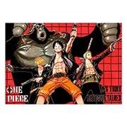 Портретный постер по One Piece