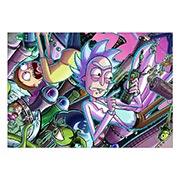 Портретный постер Rick and Morty