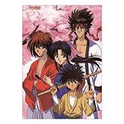 Портретный постер по Rurouni Kenshin