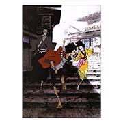 Портретный постер по Samurai Champloo