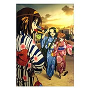 Портретный постер по Melancholy of Haruhi Suzumiya