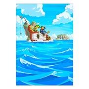 Портретный постер Legend of Zelda