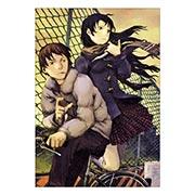 Портретный постер по Abe Yoshitoshi art