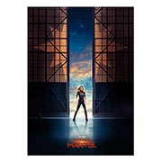 Панорамный постер Captain Marvel
