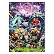 Панорамный постер по Ghosts and Goblins