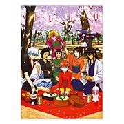 Панорамный постер по Gintama