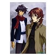 Панорамный постер по Gundam