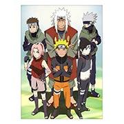 Панорамный постер по Naruto