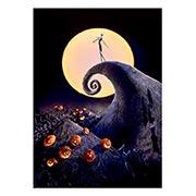 Панорамный постер Nightmare Before Christmas