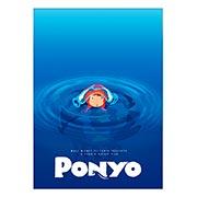 Панорамный постер Gake no Ue no Ponyo