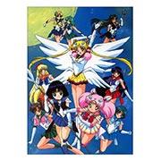 Панорамный постер по Sailor Moon