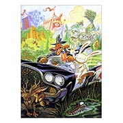 Панорамный постер по Sam and Max