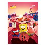 Панорамный постер SpongeBob Squarepants