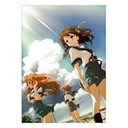Панорамный постер по Melancholy of Haruhi Suzumiya