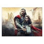 Панорамный постер Thor
