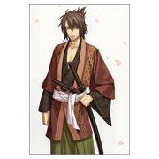 Стикер по Hakuoki: Shinsengumi Kitan