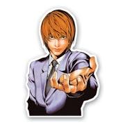 Фигурная наклейка по Death Note