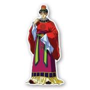 Фигурная наклейка по Fushigi Yuugi
