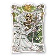 Фигурная наклейка Magic Knight Rayearth