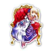 Фигурная наклейка по Pandora Hearts