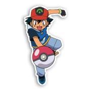 Фигурная наклейка по Pokemon