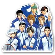 Фигурная наклейка по Prince of Tennis