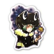 Фигурная наклейка по Kateikyo Hitman Reborn!