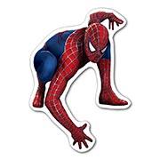 Фигурная наклейка Spider-man