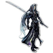Фигурная интерьерная наклейка Final Fantasy