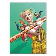 Универсальная наклейка Harley Quinn