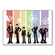 Набор стикеров по Ouran High School Host Club