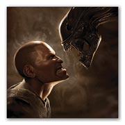 Гибкий магнит (большой) Aliens vs Predator