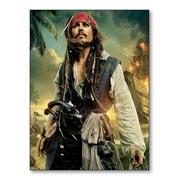 Гибкий магнит (большой) Pirates of the Caribbean